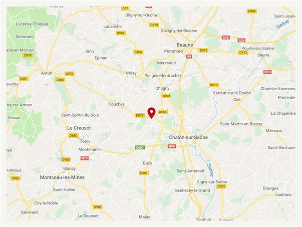 Domaine Tupinier-Bautista à Mercurey - Nous trouver | Google Maps